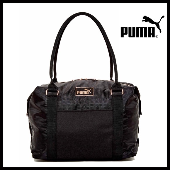 1f18acaed6b Puma Bags   Rose Gold Large Travel Duffel Shoulder Bag   Poshmark